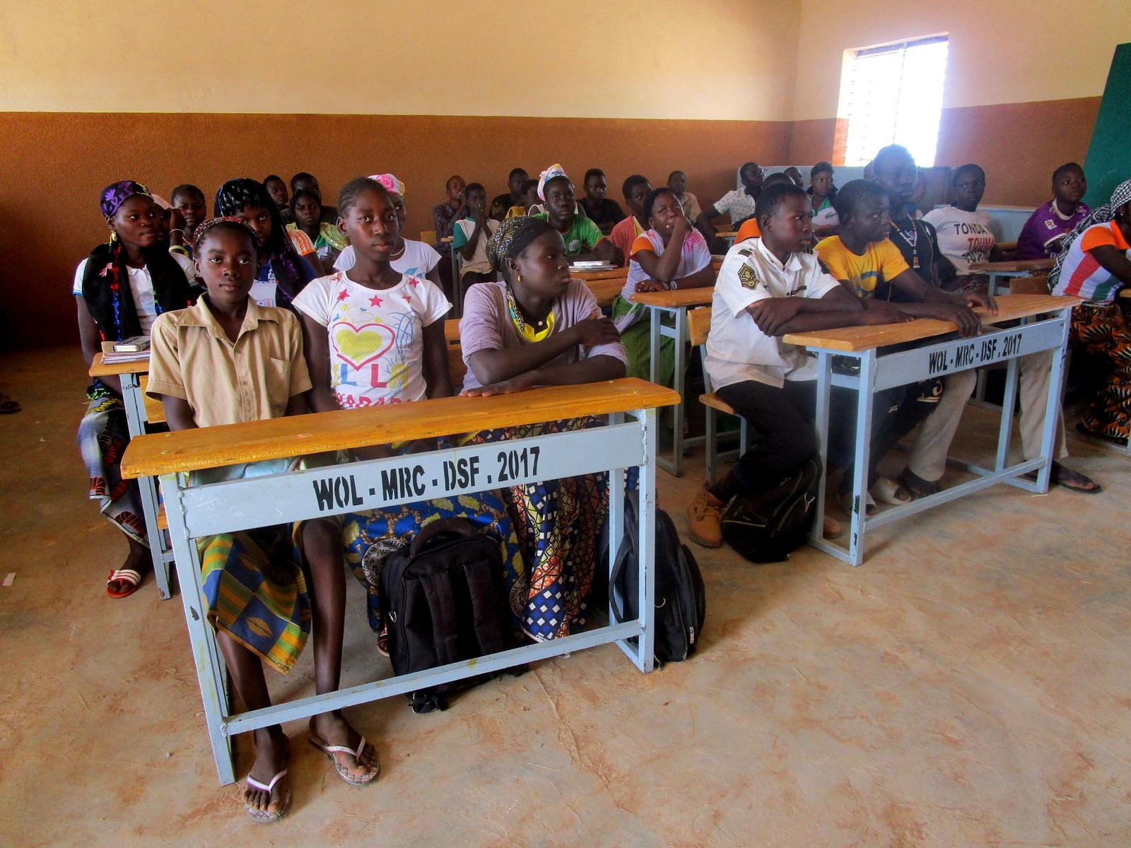 klaslokaal scholencomplex Zoodo