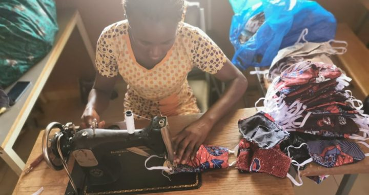 COVID-19 Maskers naaien stichting WOL Burkina faso